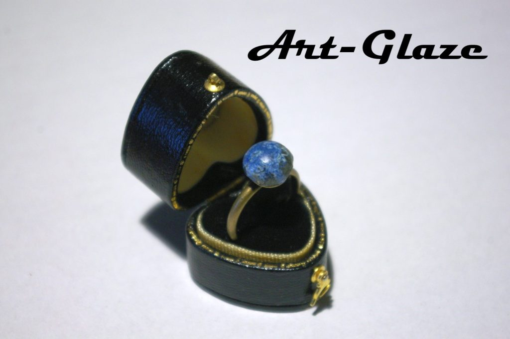 Art-Glaze ring
